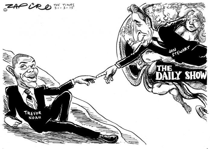 Zapiro: Trevor Noah's Midas Touch