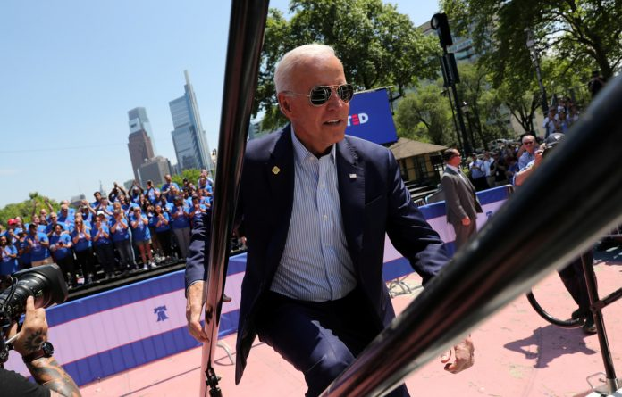 Biden's campaign pushes back against the argument that he is a political relic
