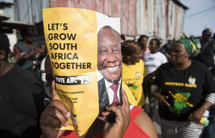 A vote for the ANC