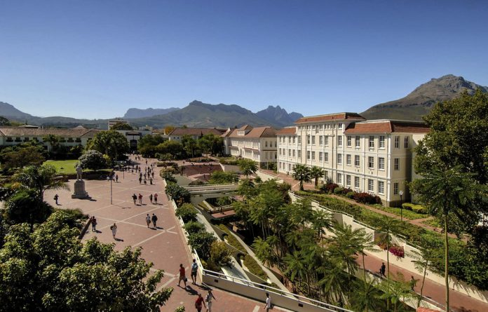 Shocking science: The campus of Stellenbosch University