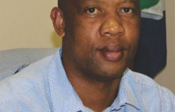 Questioned: Matlosana local municipality manager Theetsi Nkhumise.