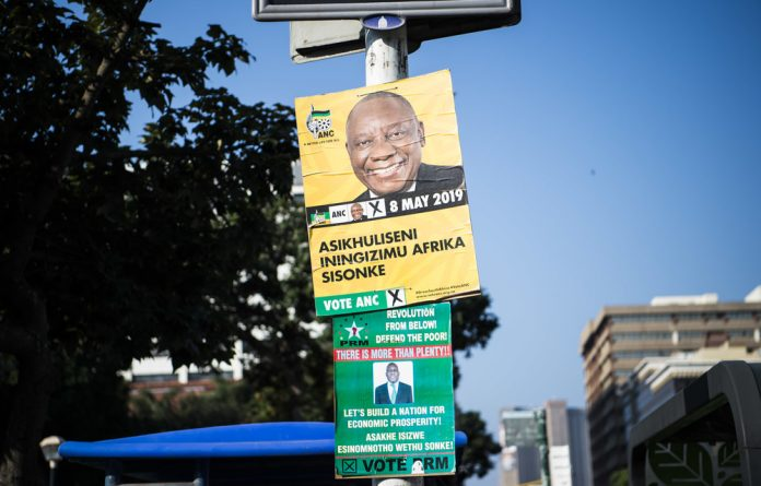 The ANC might be beset by internal strife
