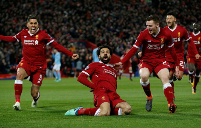 Predator: Mohamed Salah is on the hunt