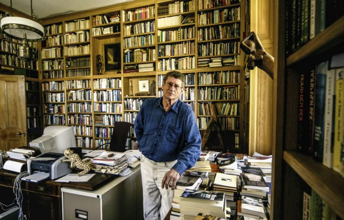 Graphomania: André Brink wrote personal journals throughout his life.