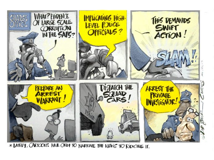 Zapiro: How the private investigator was nabbed
