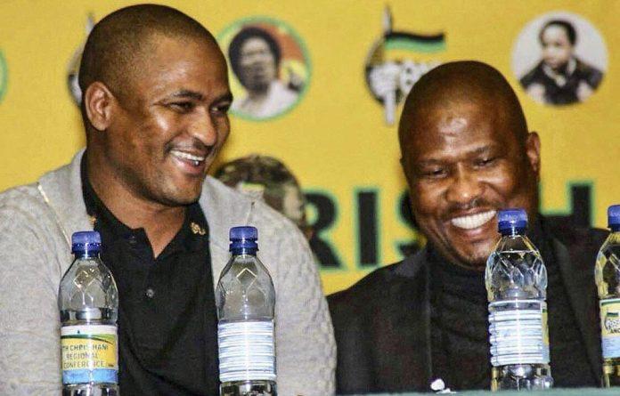 Eastern Cape ANC leaders Babalo Madikizela