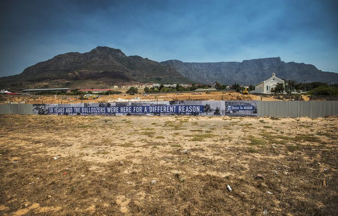 Claimants of District Six forced removals expect Rural Development and Land Reform Minister Maite Nkoana-Mashabane to explain why her department has stalled on plans to redevelop open land in the Cape Town CBD.