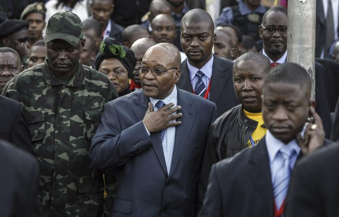 In 2008 Jacob Zuma