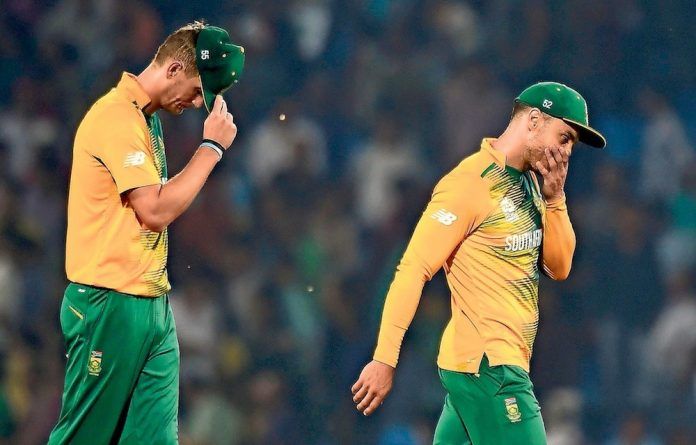 Proteas captain Faf du Plessis has much to think about before Wednesday's game against India.
