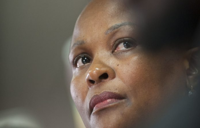 The DA has always been suspicious of Busisiwe Mkhwebane's appointment