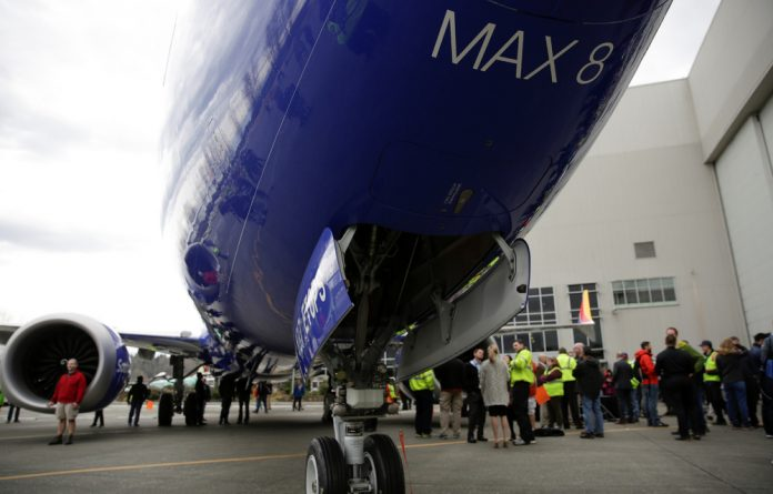 Boeing's 737 MAX 8 was grounded in March.