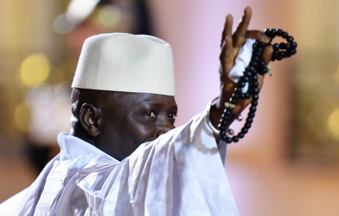 Three women have accused Gambia's former president