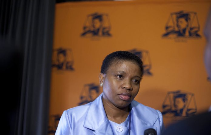 Nomgcobo Jiba was dismissed by President Cyril Ramaphosa in April