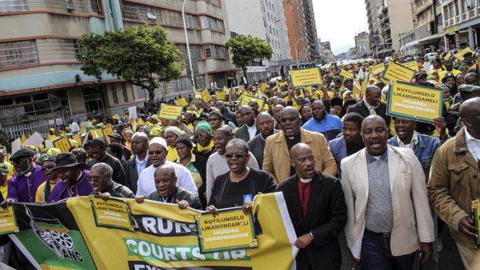 Zandile Gumede and her eThekwini regional leadership face the chop