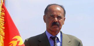Eritrea President Isaias-Afwerki.