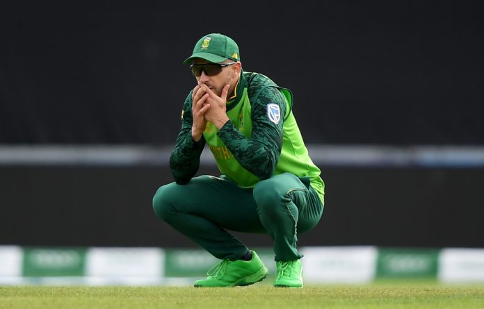 Faf du Plessis admits that the Proteas have been mediocre at the Cricket World Cup.
