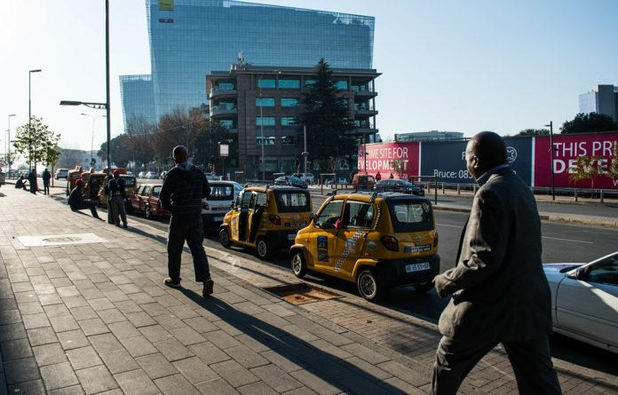 Filling the gap: Emergency Taxi is competing with the likes of Uber and Bolt to give Johannesburgers other e-hailing transport options. The company uses Qute cars