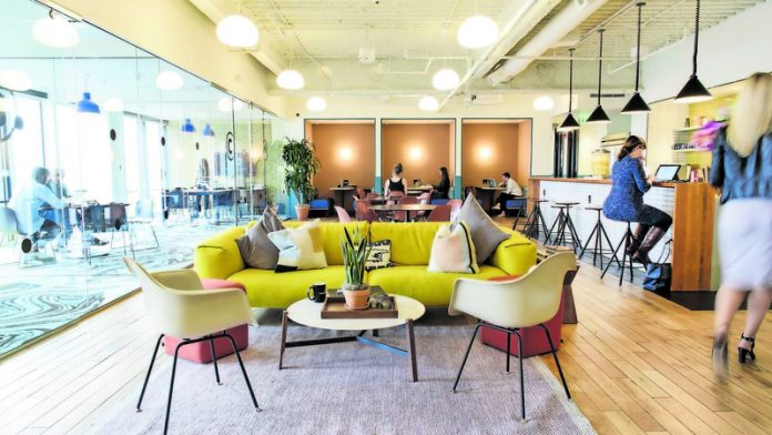 Office spaces' changing face