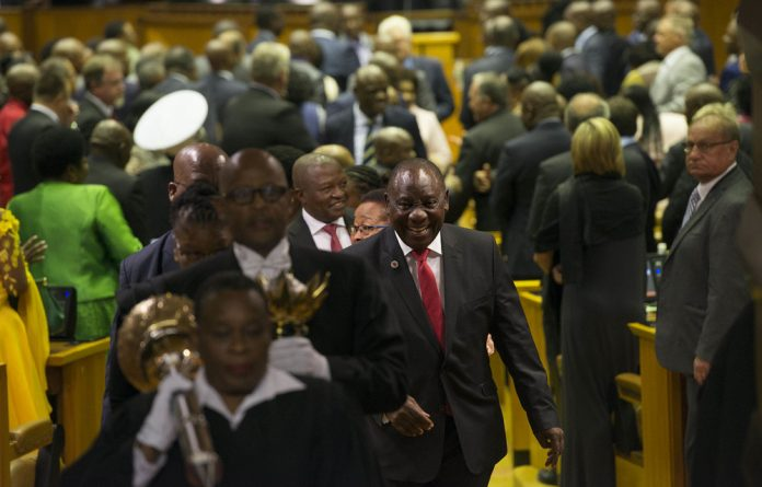 Daring to dream: Cyril Ramaphosa's response to the State of the Nation debate gave details on his vision for the country. Photo: David Harrison