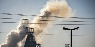 No escape: The ArcelorMittal plant in Vanderbijlpark