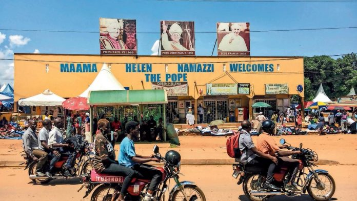 Walking Uganda's martyrs' route
