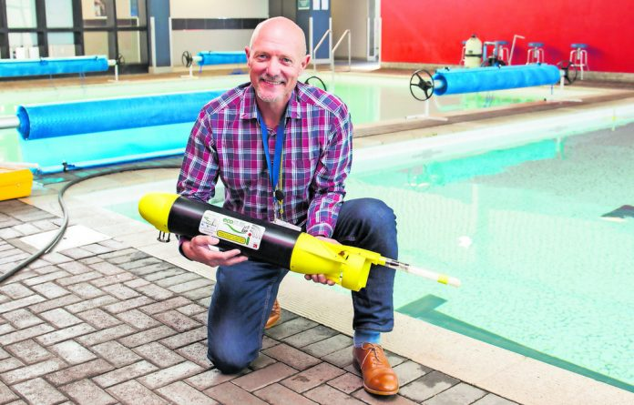 Professor Mike Roberts and ecoSUB - a new generation marine research robot