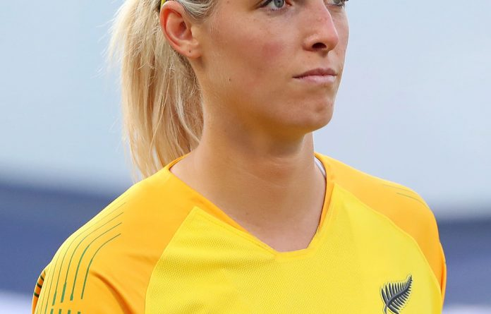 New Zealand goalkeeper Erin Nayler.
