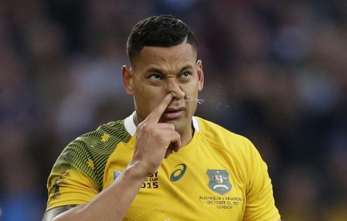 Bloop: Israel Folau's crowdfunding campaign attracted criticism