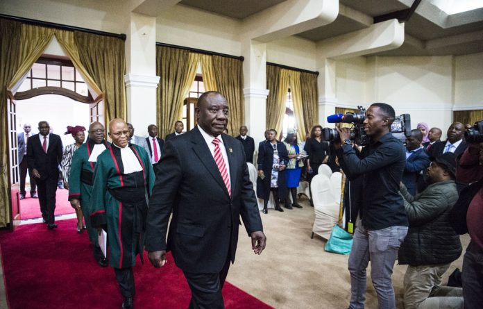 It's official: President Cyril Ramaphosa
