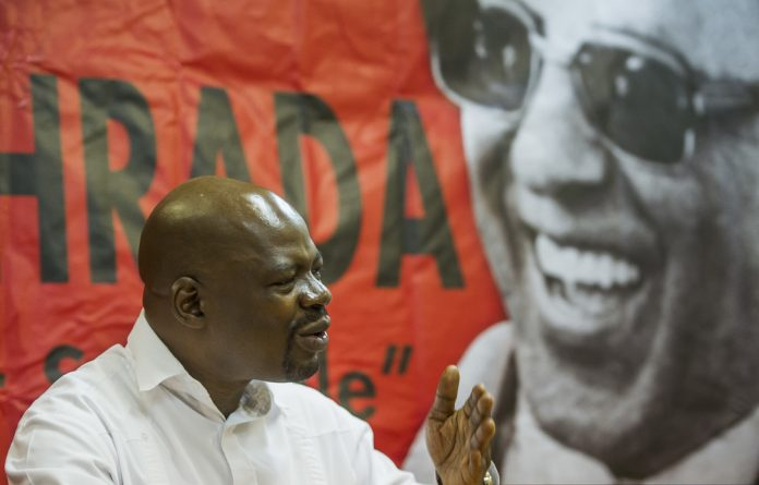 ​South African Communist Party deputy general secretary Solly Mapaila.
