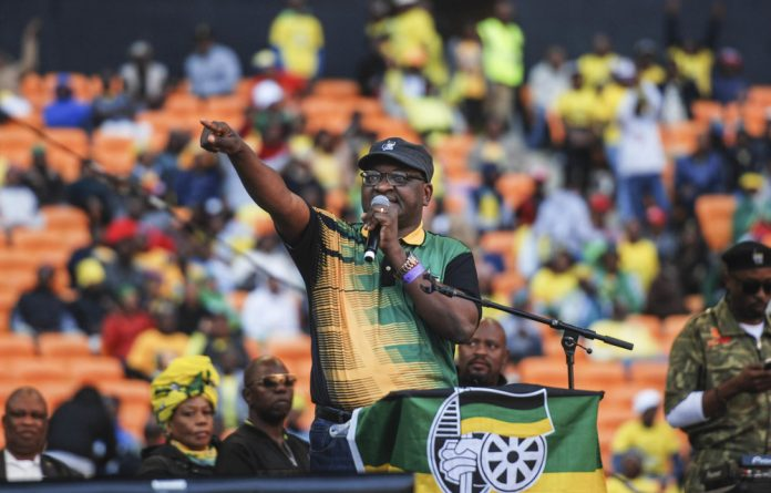 Survival tactics: David Makhura knows that e-tolls erode support for his party