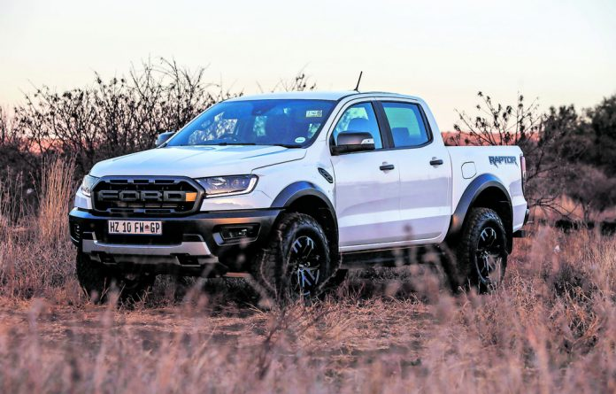Well built: The Ford Ranger Raptor is a vehicle that guarantees fun