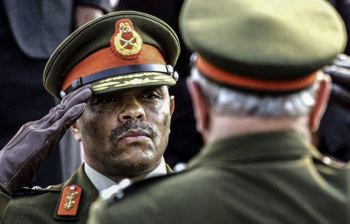 No agent: Ex-army chief General Siphiwe Nyanda says he's being targeted by Jacob Zuma for speaking out against corruption. Photo: Juda Ngwenya