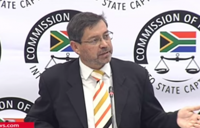 During his appearance before the commission — chaired by Deputy Chief Justice Raymond Zondo — Roy Jankielsohn