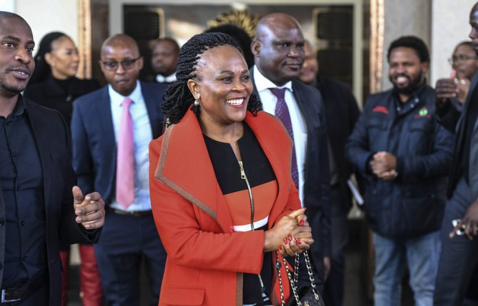 In the firing line: The future is uncertain for public protector Busisiwe Mkhwebane after the Constitutional Court found that she did not fully understand her duties.