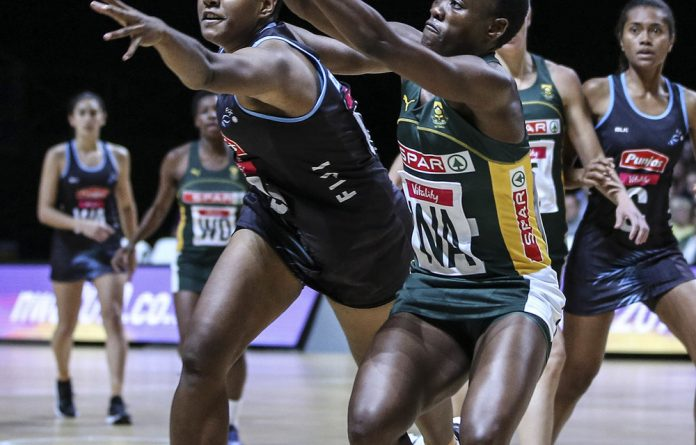 Wizard: Proteas captain Bongi Msomi has wreaked havoc in the Netball World Cup with her lightning attacks down the wing.