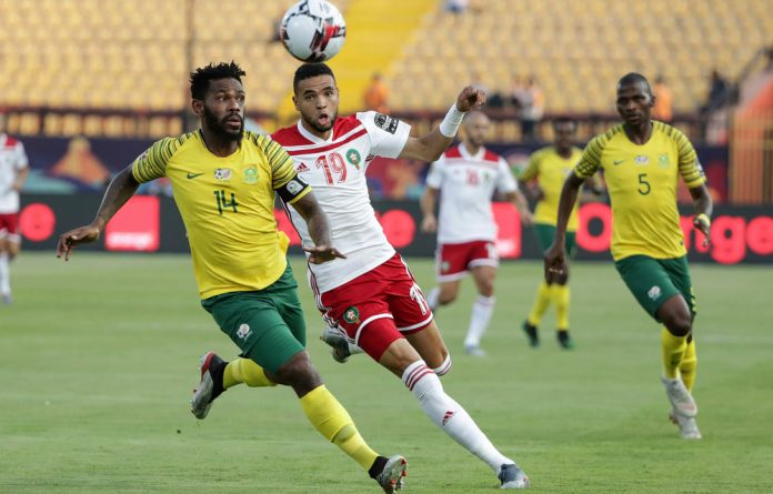 Getting ahead: Bafana Bafana must be more proactive against Egypt than they were against Morocco earlier this week if they want to avoid an early exit.
