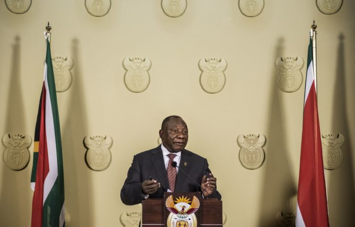 President Cyril Ramaphosa has rejected the public protector's claim that he has taken sides in her battle with Public Enterprises Minister Pravin Gordhan.