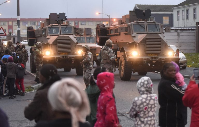 Mixed emotions as soldiers return to the Cape Flats