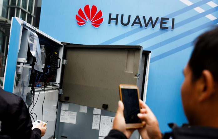 Huawei's involvement in the roll-out of 5G networks has become an increasingly political issue after Washington raised concerns over potential security risks and pushed its closest allies to reject the Chinese firm.