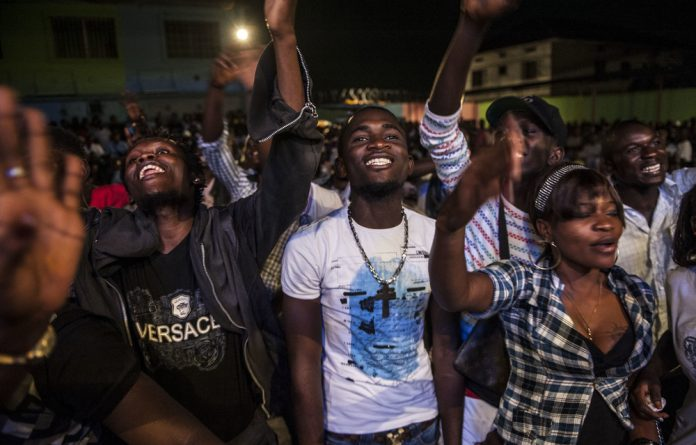 Curfew: Kinshasa by night is set to change if new rules are followed. Bars must close by 11 pm but the music can play on.