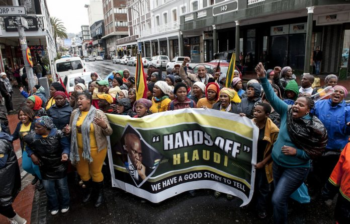 Hlaudi's congregants: Defenders of Hlaudi Motsoeneng