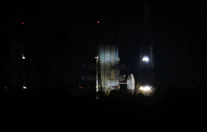 The spacecraft looked set for launch atop a Geosynchronous Launch Vehicle Mk III — India's most powerful rocket