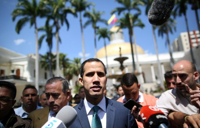 On Sunday Guaido also announced that he would push for Caracas to rejoin the Inter-American Defense Treaty