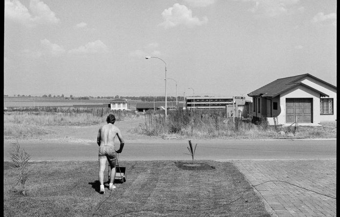 Leisure labour: David Goldblatt's photograph 'Saturday Afternoon in Sunward Park