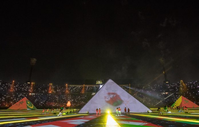 21 June 2019: The opening ceremony of the Africa Cup of Nations at Cairo International Stadium before the Group A match between hosts Egypt and Zimbabwe kicked off the tournament.