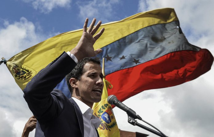 Venezuela's opposition leader Juan Guaido.