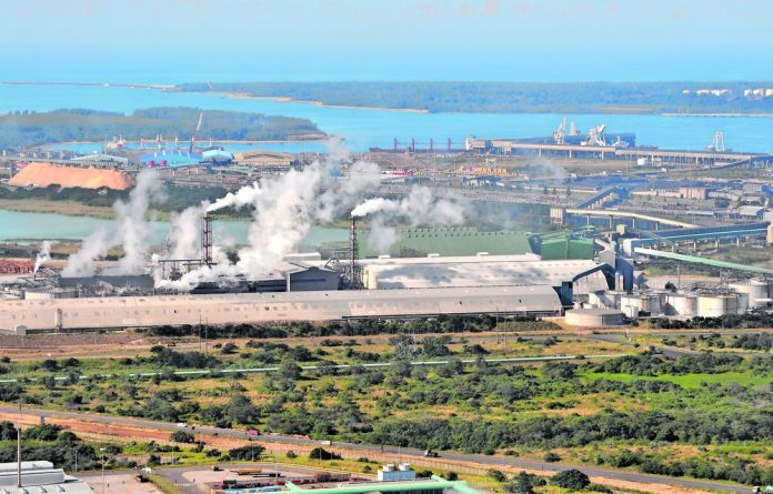 Richards Bay industrial landscape