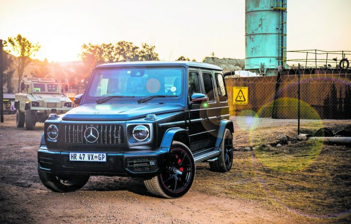 G 63 spot: The Mercedes Geländewagen hits all the right notes