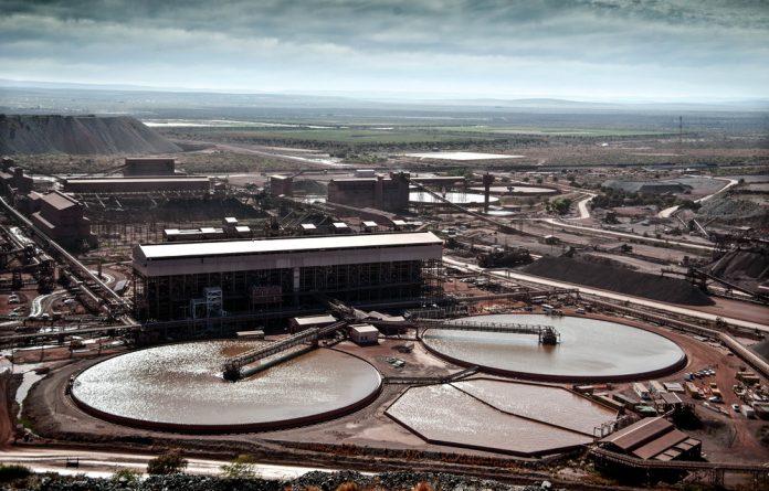 Pedal to the metal:  Kumba Iron Ore's Sishen mine produces lumpy ore